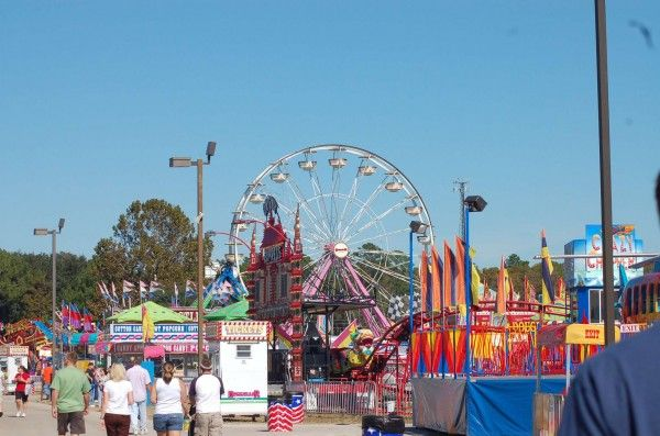 The Annual Volusia County Fair On East Coast Of Florida Near Daytona Beach