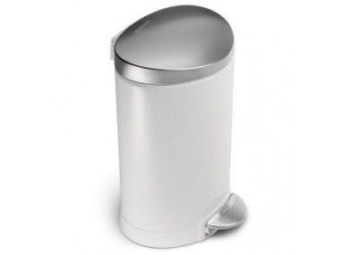 Met een inhoud van zes liter is dit de kleinste prullenbak uit de ...