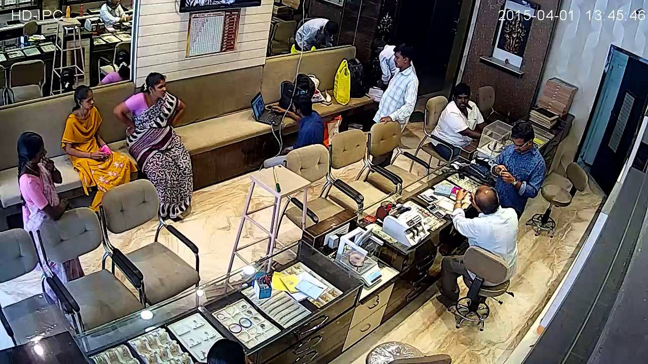 Jewellery Showrooms Cctv Cameras For Jewellery Shops Cctv