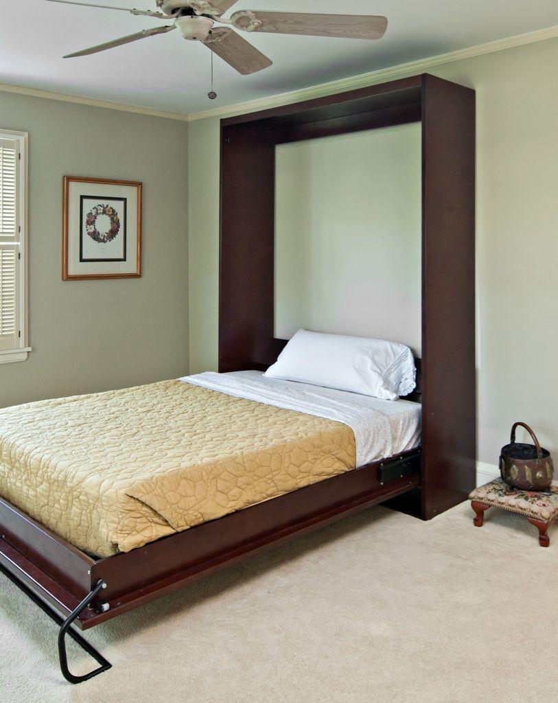 Photo of Ein Schrankbett für das fertige Kellerzimmer. Deckenventilator ist ein Muss.