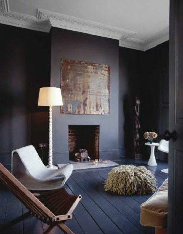 Le gris anthracite en 45 photos d\u0027intérieur! Gray floor, White