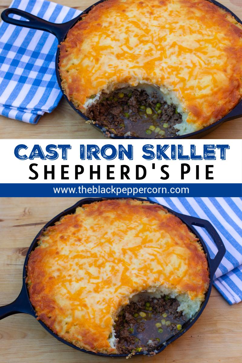 Skillet Shepherd's Pie Recipe - Lodge Cast Iron Skillet
