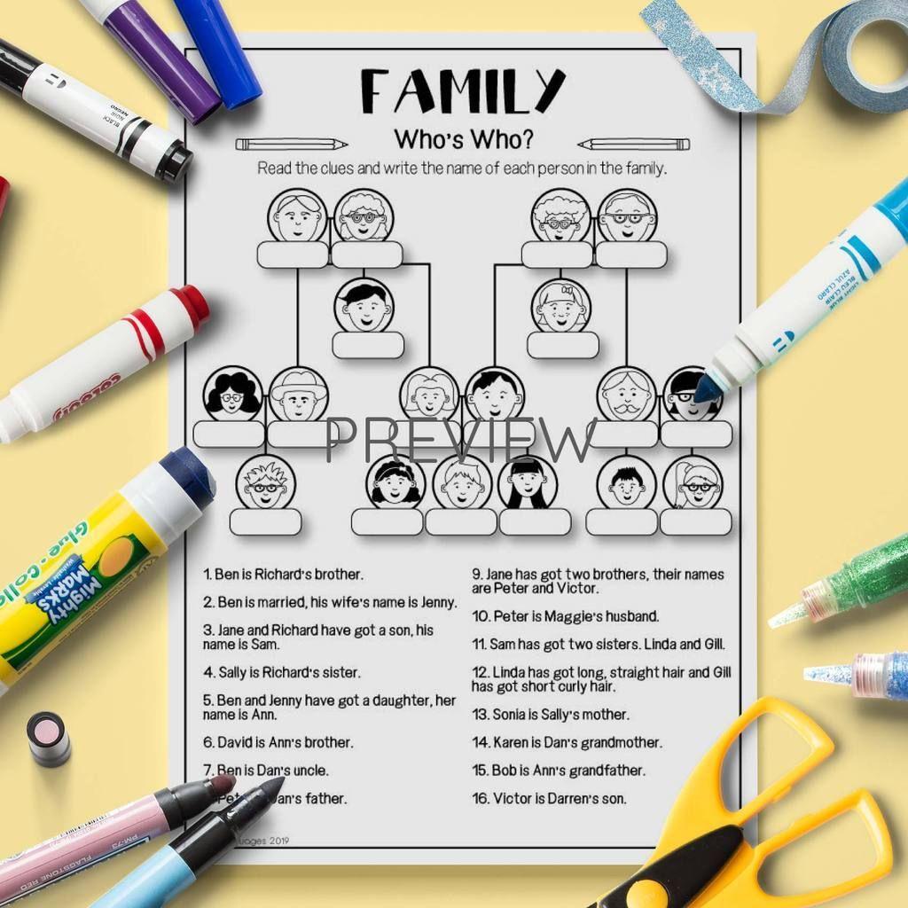 20 Creative Family Tree Ideas Printable Templates