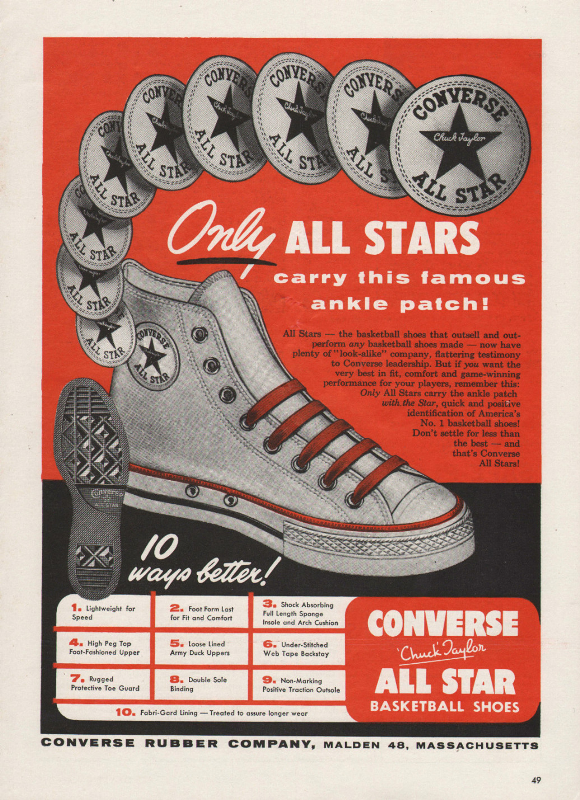 4710976c89c8cd The Converse Rubber Shoe Company is an American sneaker brand created by  Marquis Mills Converse in 1908. In 1917