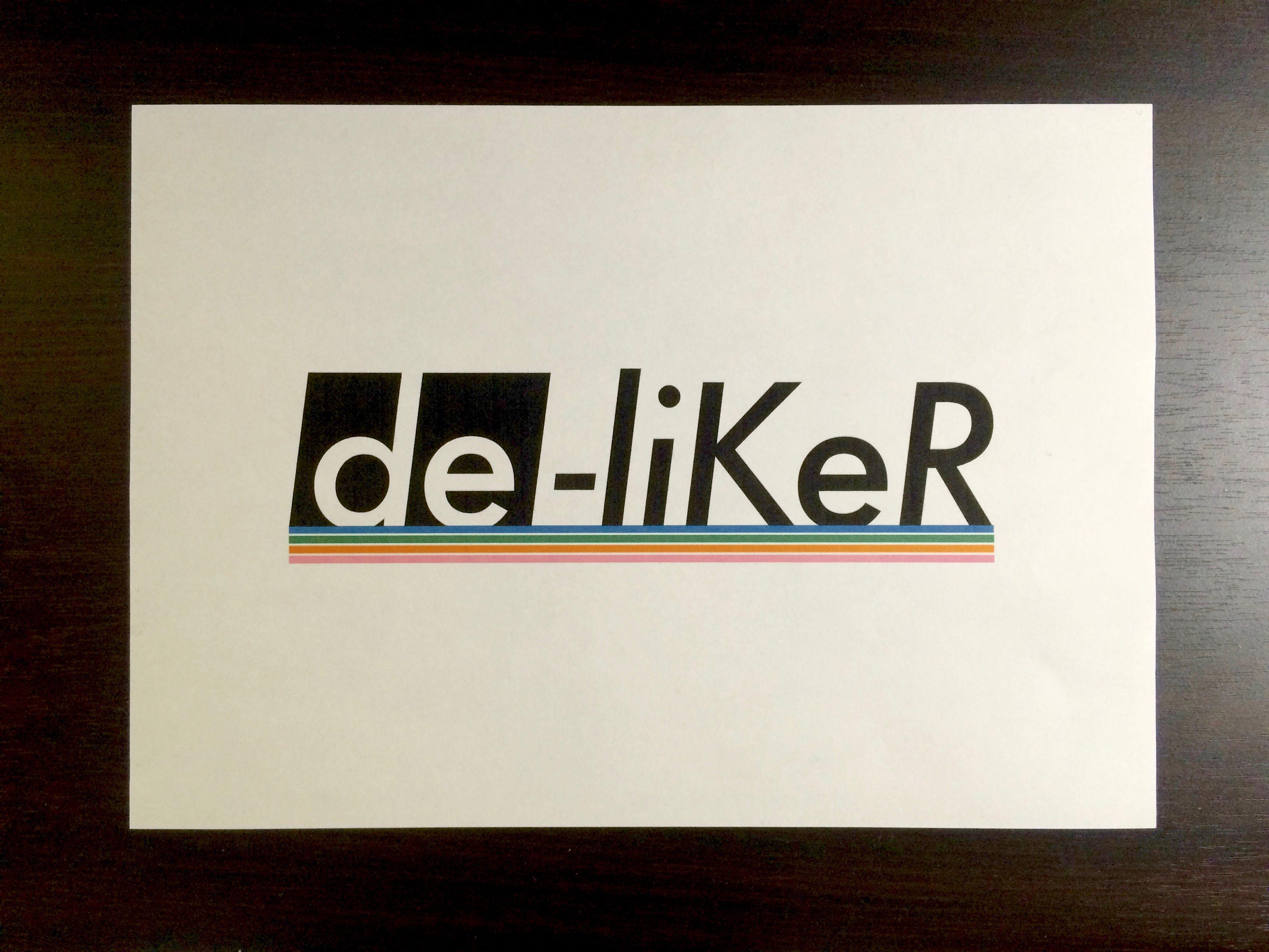 New de-liKeR