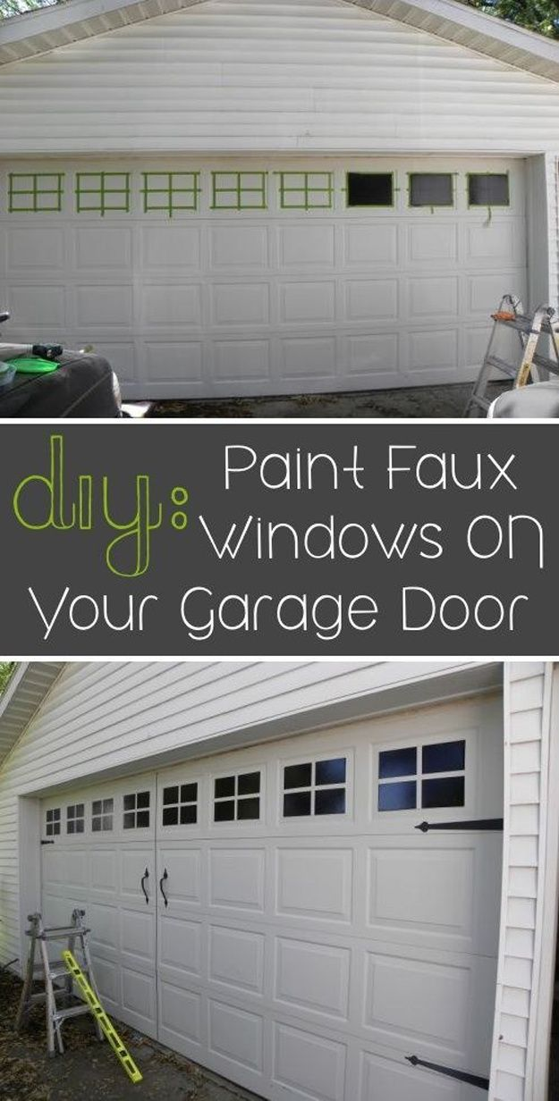 27 Diy Projects To Add Value To Your Home 22 Is So Important Diy Home Improvement Home Upgrades Garage Door Makeover