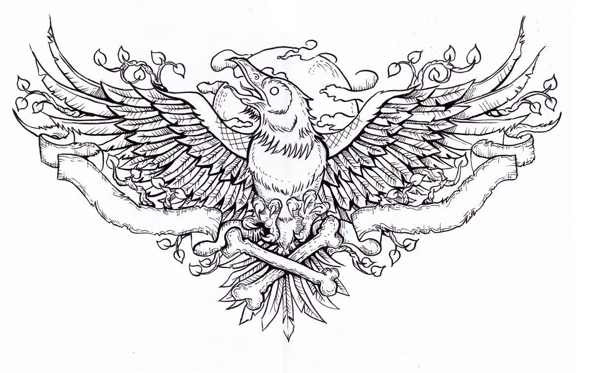 Edgar Allan Poe The Raven Tattoo Art Raven Tattoo Chest