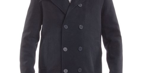 dd5ee96a99 Just saw Alpine Swiss Jake Mens Pea Coat Wool Blend Double Breasted Dress Jacket  Peacoat on
