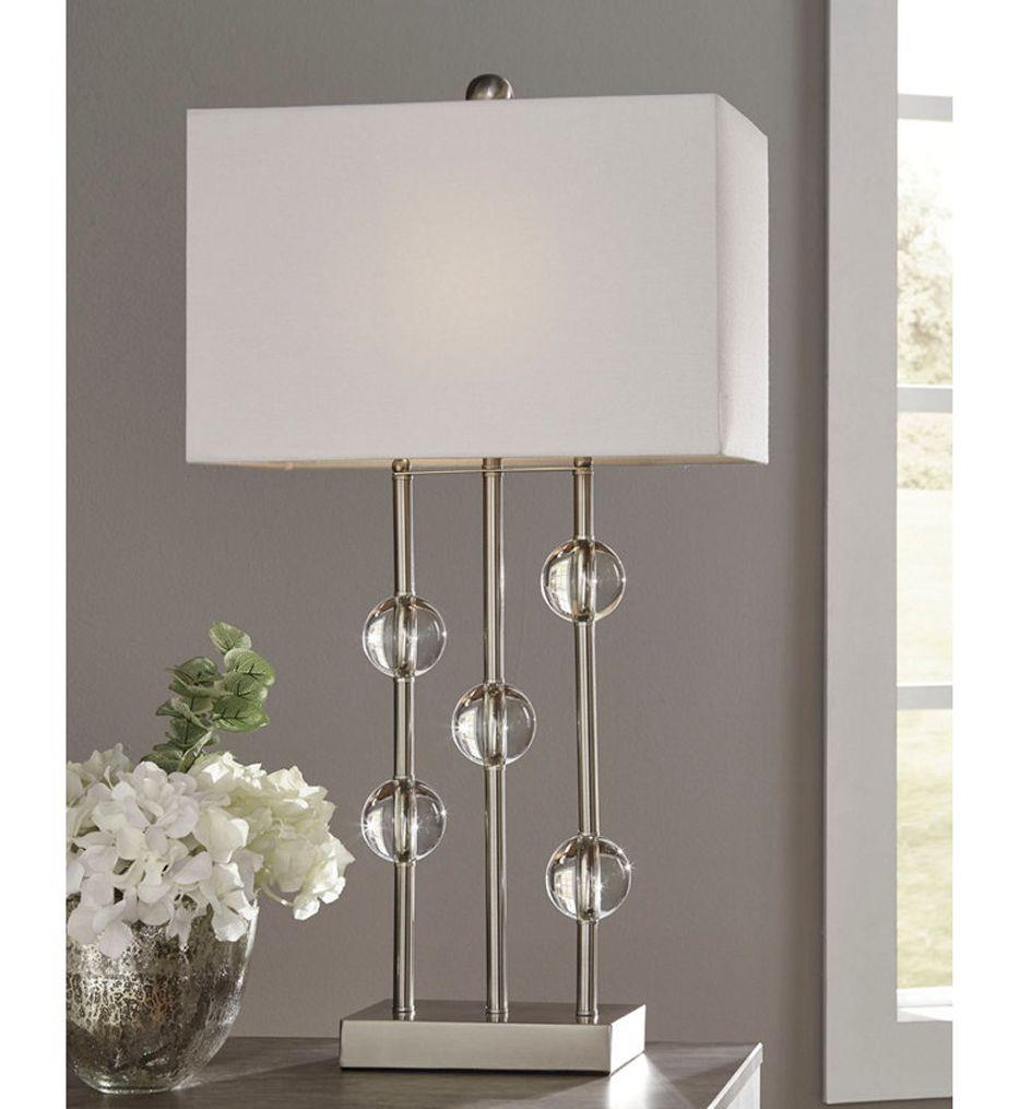 Ashley Furniture Jaala Table Lamp Table Lamp Metal Table Lamps Glam Furniture