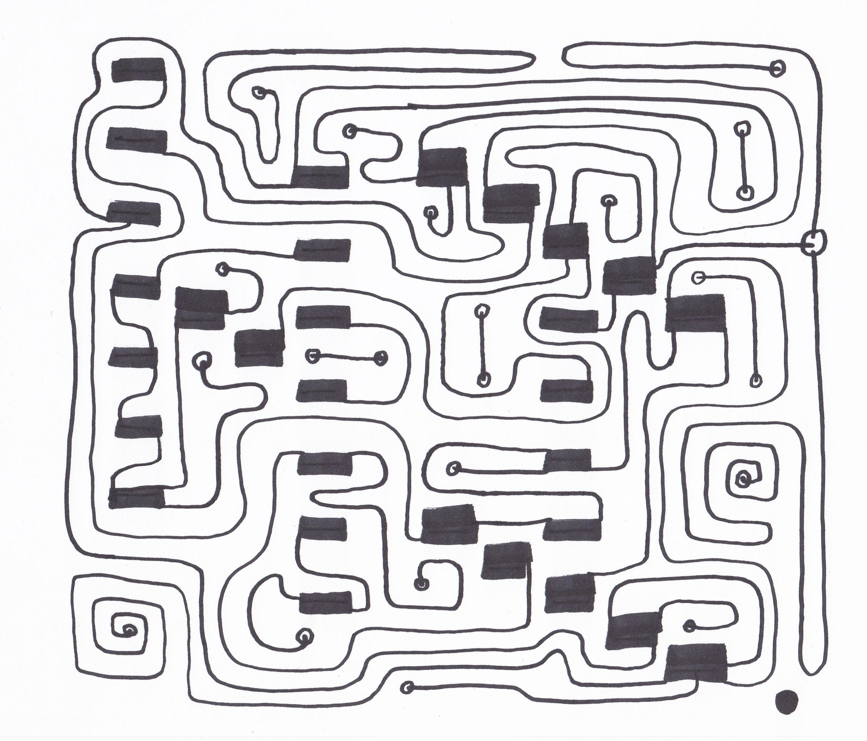 simple circuits simple maze game created by trogfishaz