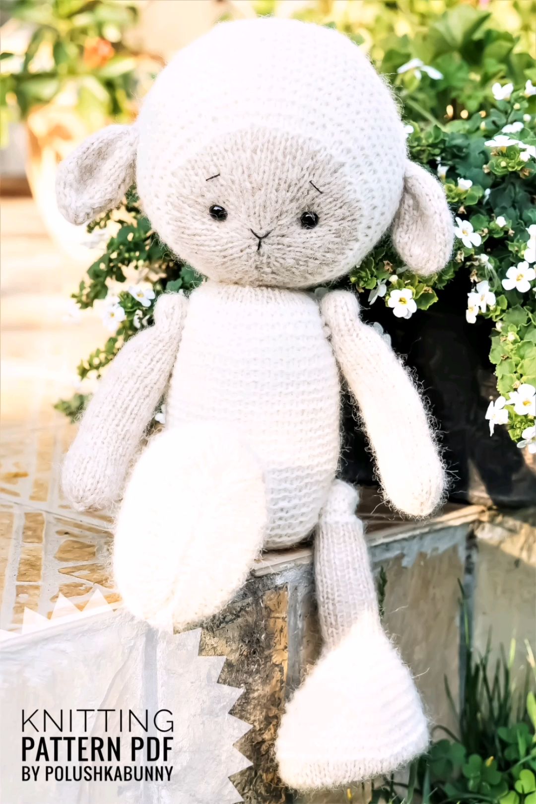 Photo of Knitting Toy Pattern – Milky The Lamb Toy by Polushkabunny #lamb #knitting #pattern #toy #diy