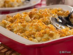 Want some down-home, southern-style chow on your table? Then you have to try our Southern Potato Bake. Dish up hearty portions of this hot and hearty potato casserole and enjoy, y'all!