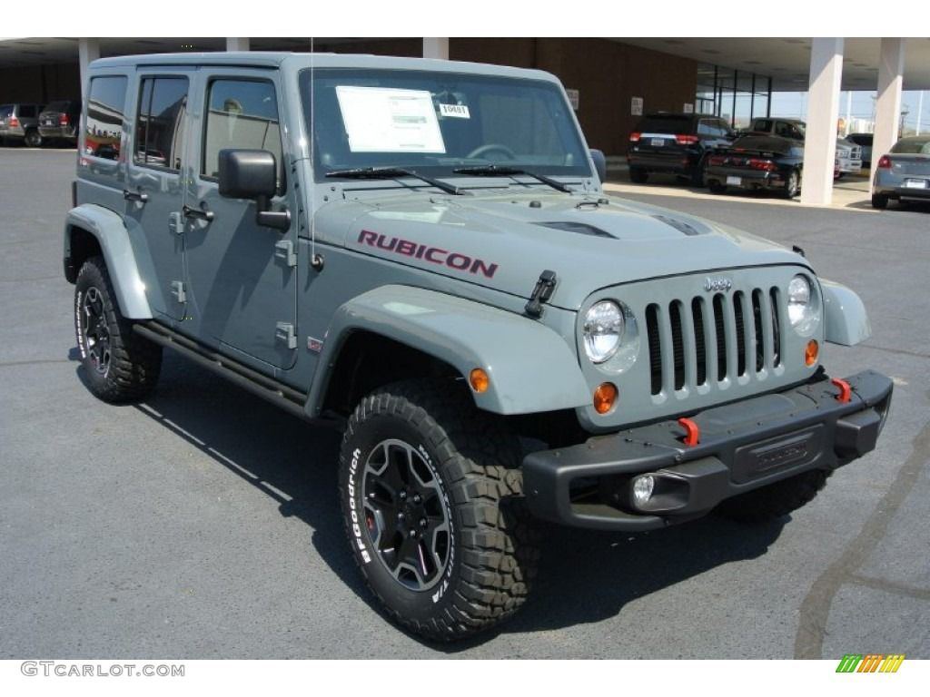 2013 Anvil Jeep Wrangler Unlimited Rubicon 10th Anniversary