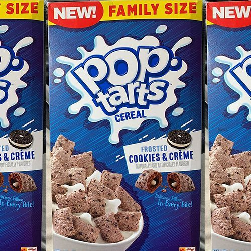 Pop-Tarts Frosted Cookies & Crème Cereal