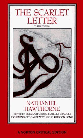 The Scarlet Letter: An Authoritative Text Essays in Criticism and Scholarship (Norton Critical Editions) by Nathaniel Hawthorne, http://www.amazon.com/dp/0393956539/ref=cm_sw_r_pi_dp_vmMHqb04K66H1