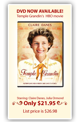 Temple Grandin: The amazing true story of life with Autism. This movie is exceptional, funny, intense and informational all at once. Well worth seeing and owning.