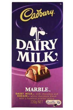 Cadbury Marble Block Chocolate From Australia Cadbury Dairy Milk Dairy Milk Cadbury Milk Chocolate