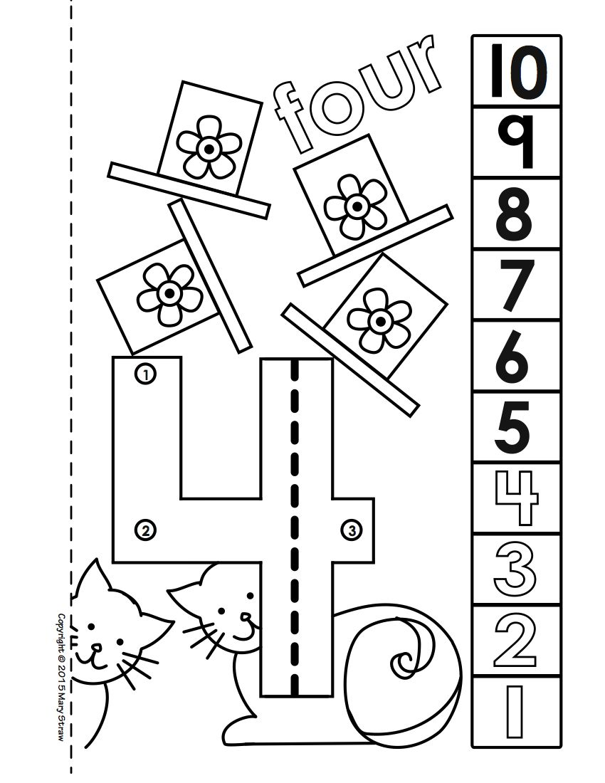 Dot-to-Dot Number Book Bundle 1-20 Activity Coloring Pages | Zuelen ...