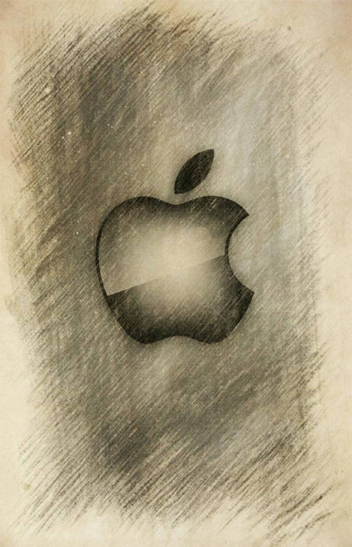 beautiful+apple+logo+sketch+version++by+ncolque.deviantart.com+on+@DeviantArt  | Apple logo, Apple logo wallpaper, Logo sketches