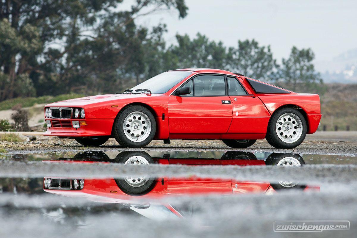 Lancia 037 Rally (1982) - Kunststoffkarosserie über Passagierzelle ...