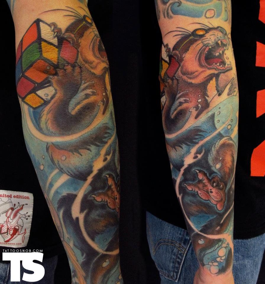 Tattoo by jee sayalero at humanfly studio in madrid spain wow me