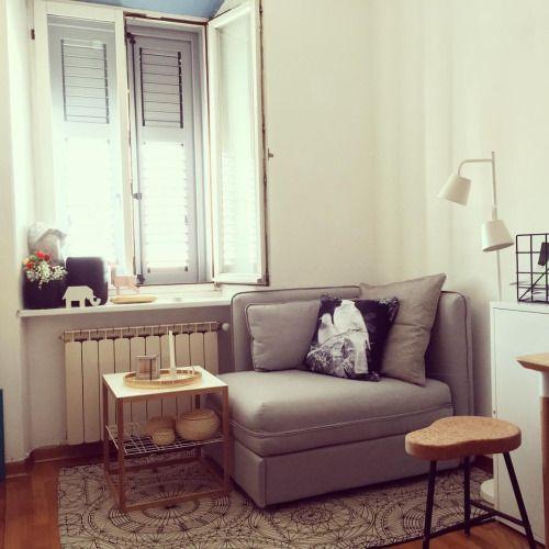 Vallentuna Ikea Corner Nook To Twin Small Guest Rooms Vallentuna Home Living Room