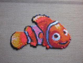 Nemo Pixar Bead Sprite by Karma-Pudding on deviantart