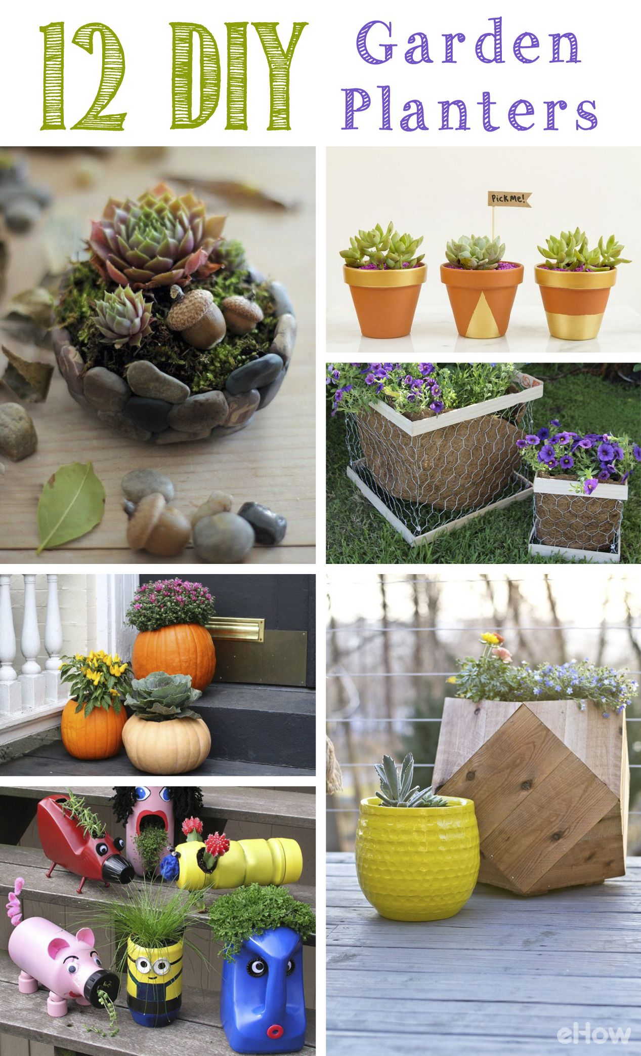how to make your own plant labels