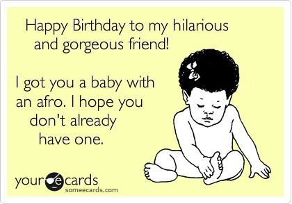 Happy Birthday Cards For Friends Funny