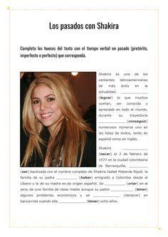 Revisar los pasados del español con Shakira / La página del español