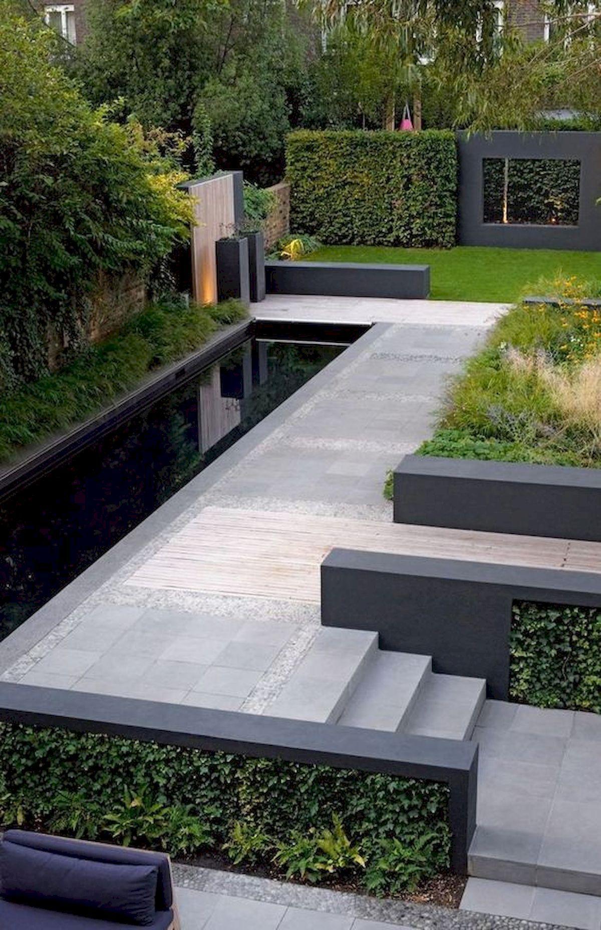 60 Beautiful Backyard Garden Design Ideas And Remodel (54 #patioandgardenideas