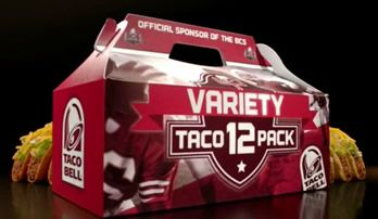 Taco Bell has pulled an ad off the air after customer backlash. The ad was intended to promote a variety 12-pack of tacos, but instead promoted how lame vegetables are. Luckily, now you know people will hate you if you bring them to a Super Bowl party.