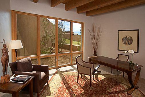 contractors new mexico building in contextual modern home design in santa fe - New Mexico Home Design