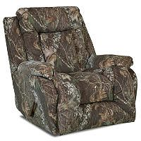For Aaron Topsail Mossy Oak Camouflage Rocking Recliner Sam S
