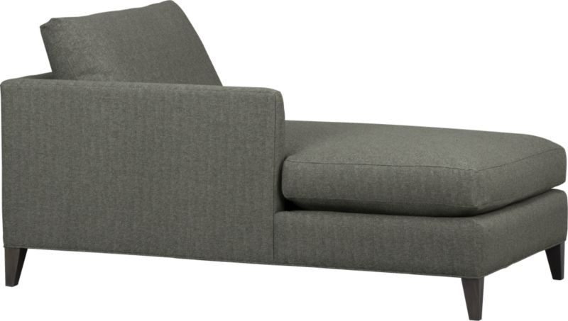 Klyne Ii Left Arm Sectional Chaise Crate And Barrel 2