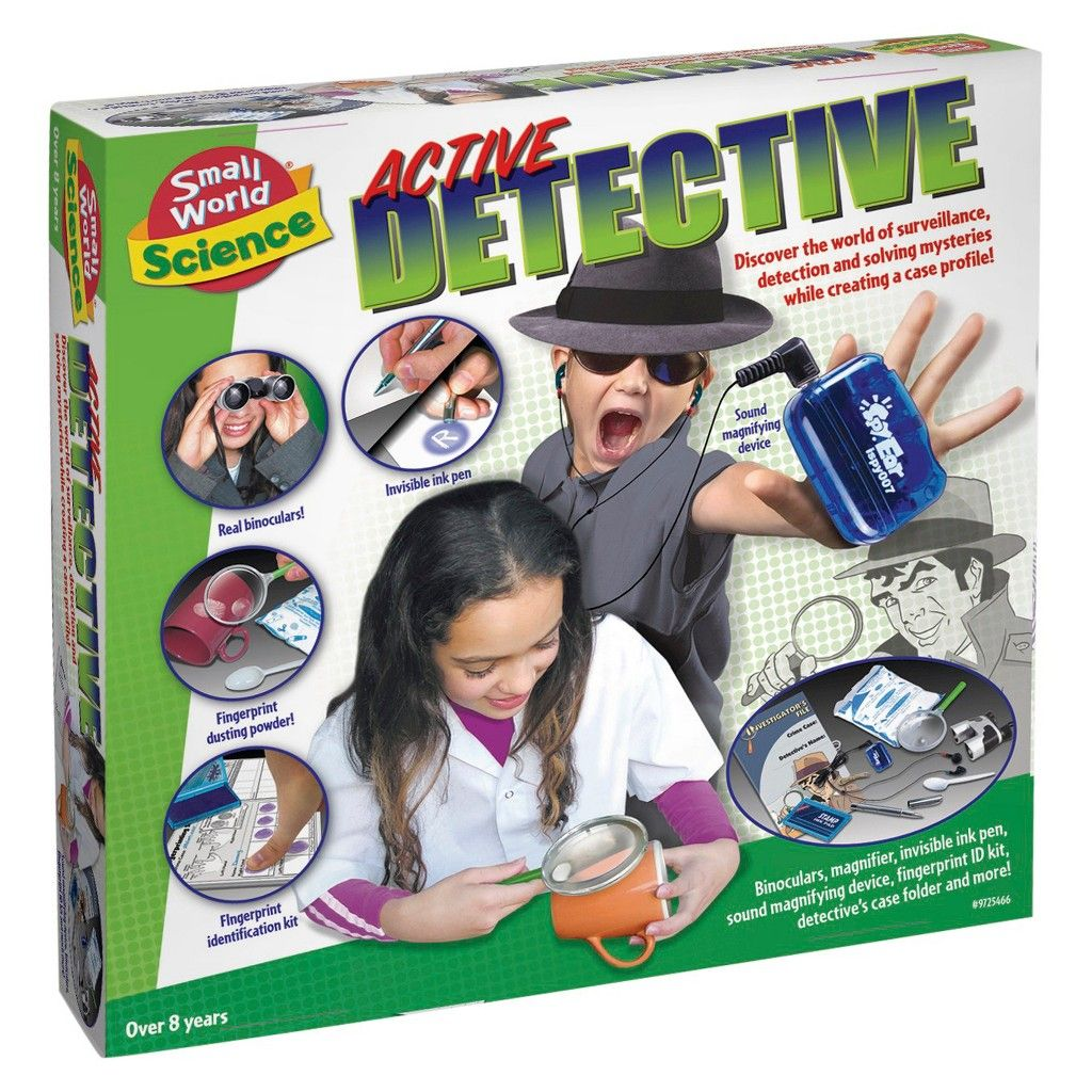 tripletap to zoom Spy gifts, Detective, Mystery