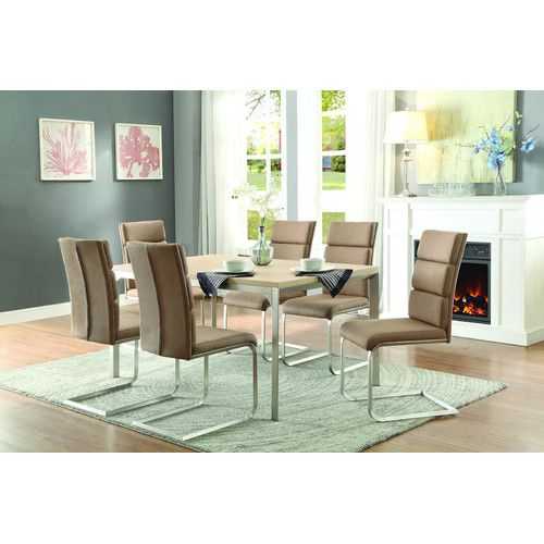 Found it at Wayfair - Moriarty 7 Piece Dining Set