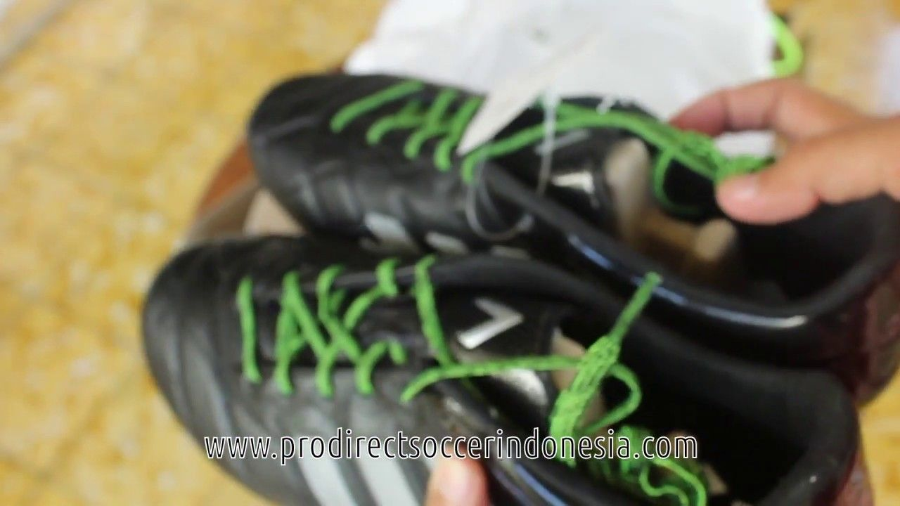 Sepatu Bola Adidas Ace 15 1 Sg Leather Core Black S83016 Original
