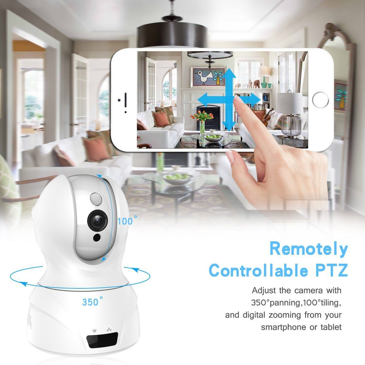 Amazon UTHMNE HD WiFi Security Surveillance IP Camera Home