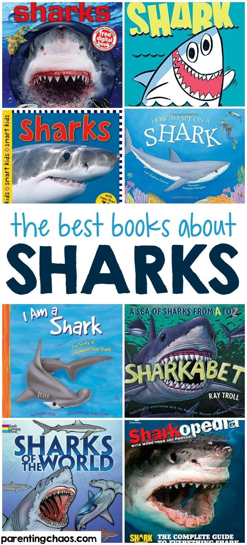 The Best Shark Books For Kids Shark Books Shark Activities Books [ 1500 x 680 Pixel ]