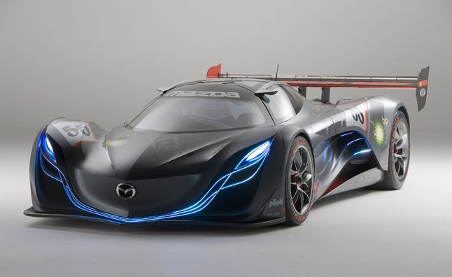 The Mazda Furai Meaning Sound Of The Wind Is The Fifth And
