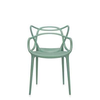 Kartell Masters Dining Chair Set Of 2 Color Sage Green