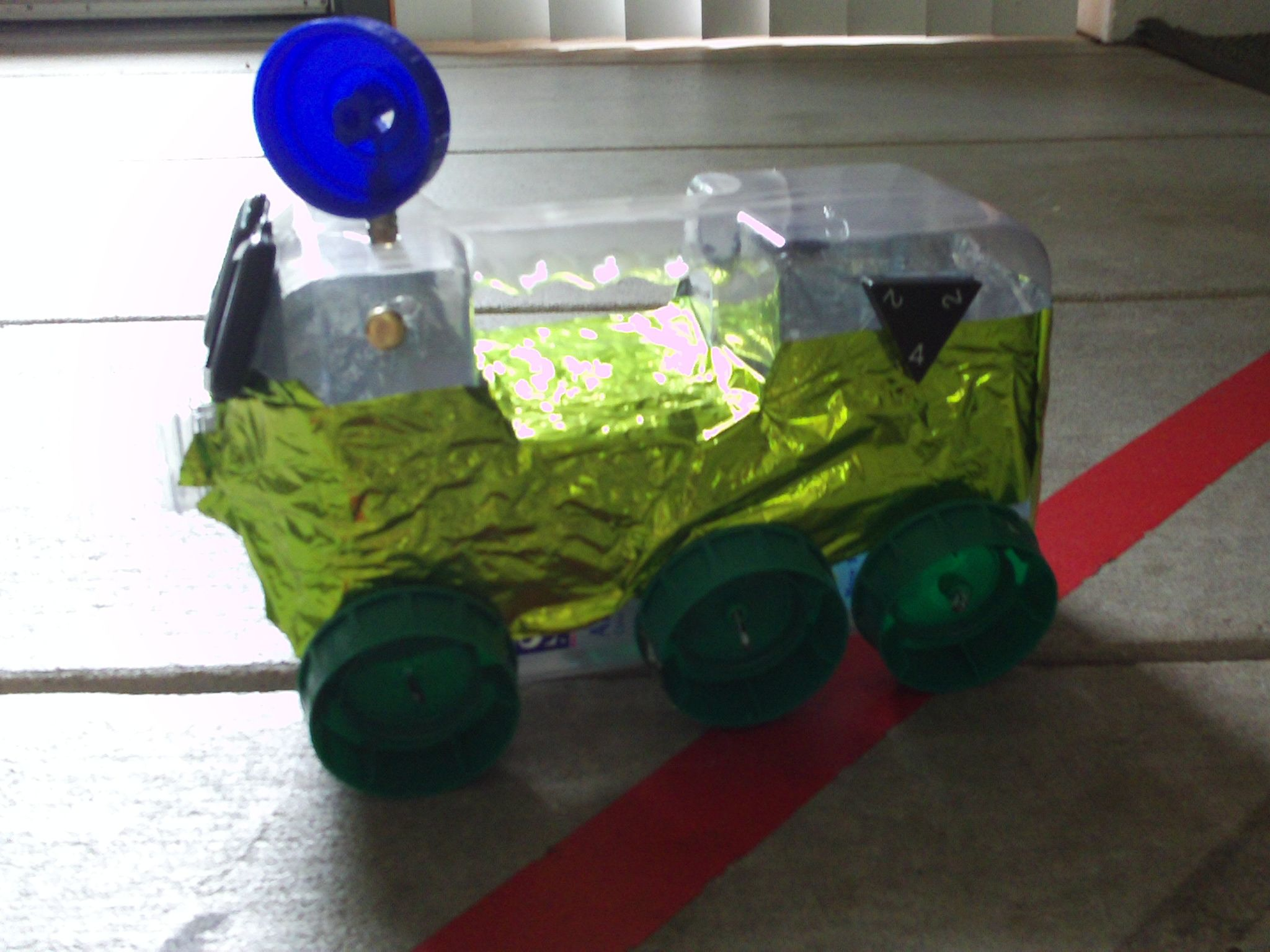 Moon Buggy Diy Mars Rovers For Kid Ex Art And Nature Crafts Science