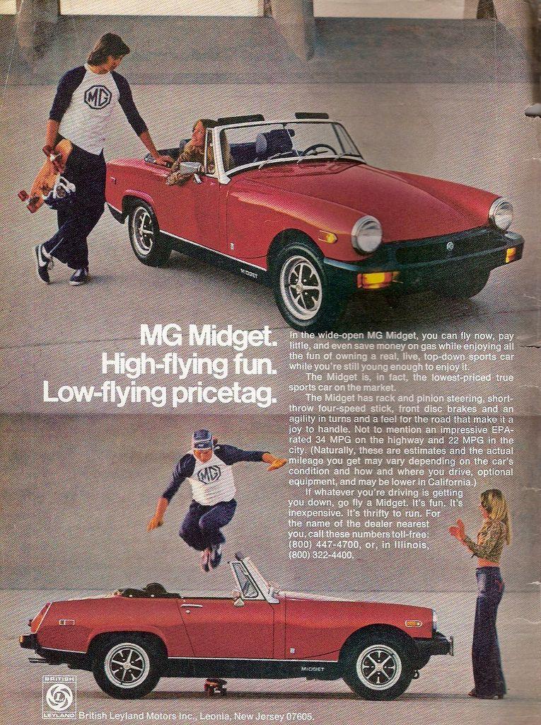 1965 MG Midget Ad ~ Small Wonder, Vintage Car Ads ~ Other