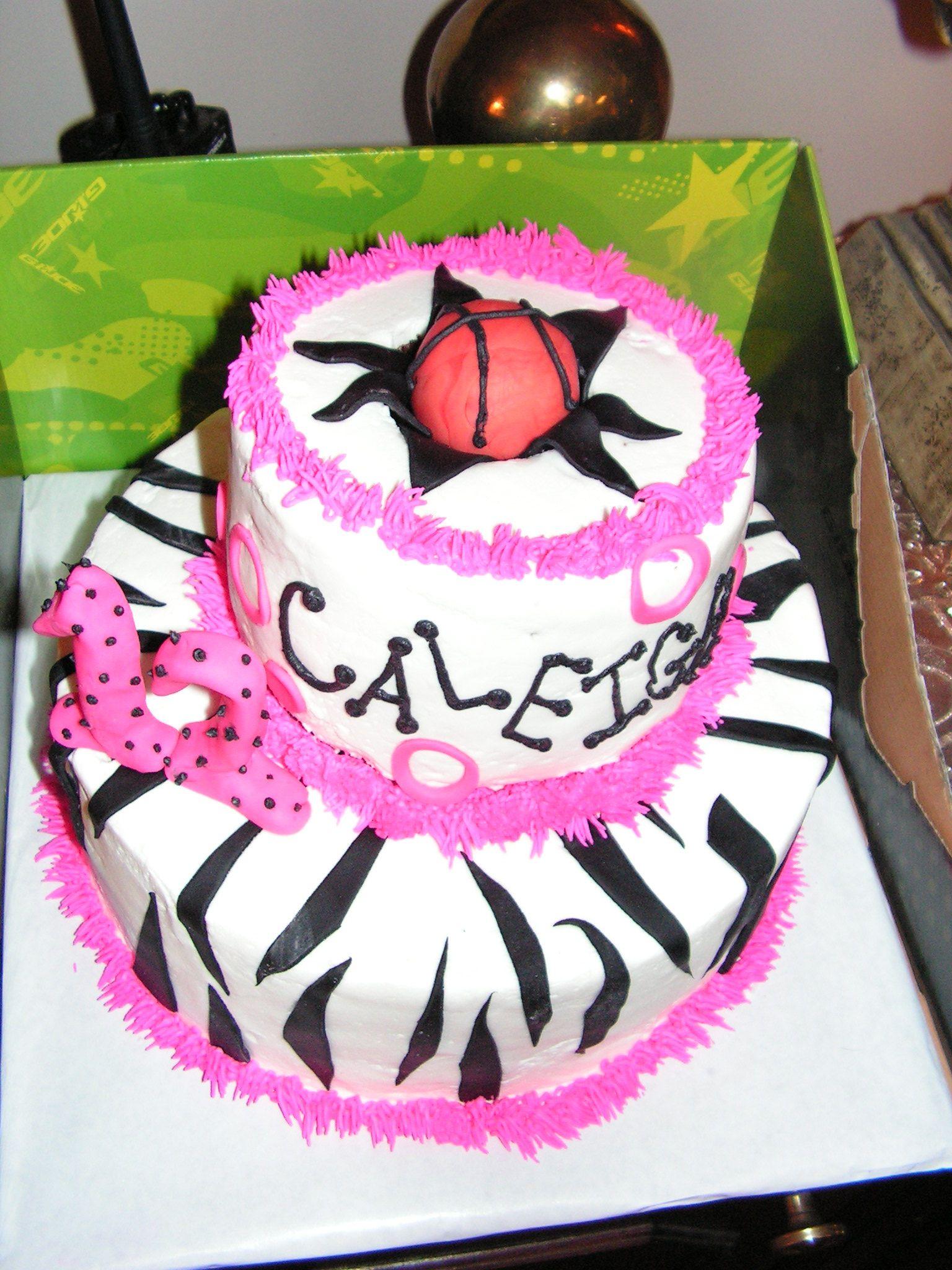 girls basketball cake Girls basketball cake Libbys