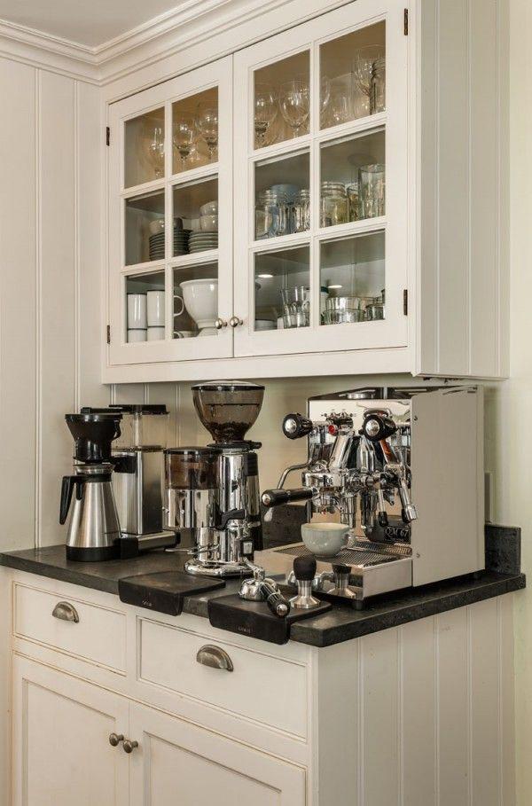 Cappuccino/Espresso Station - Kitchen - Crisp Architects | Kitchens ...