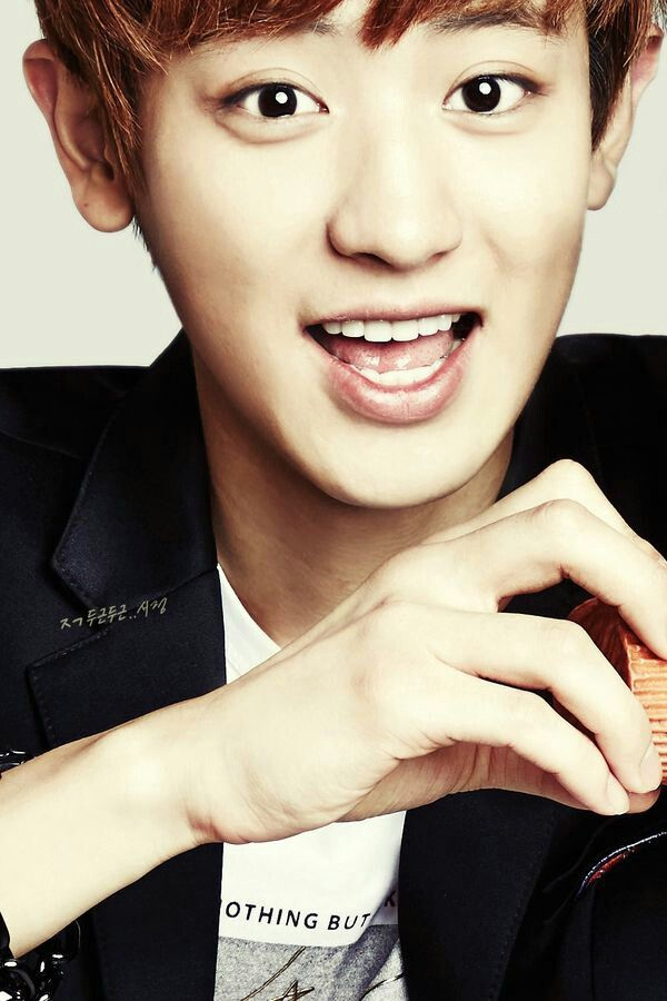 EXO's Chanyeol in IVY Club for Back To School photoshoot.