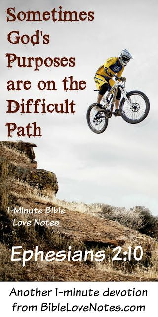 Easy paths are bigger temptations to Christians than evil paths. This 1-minute devotion encourages us to avoid them!