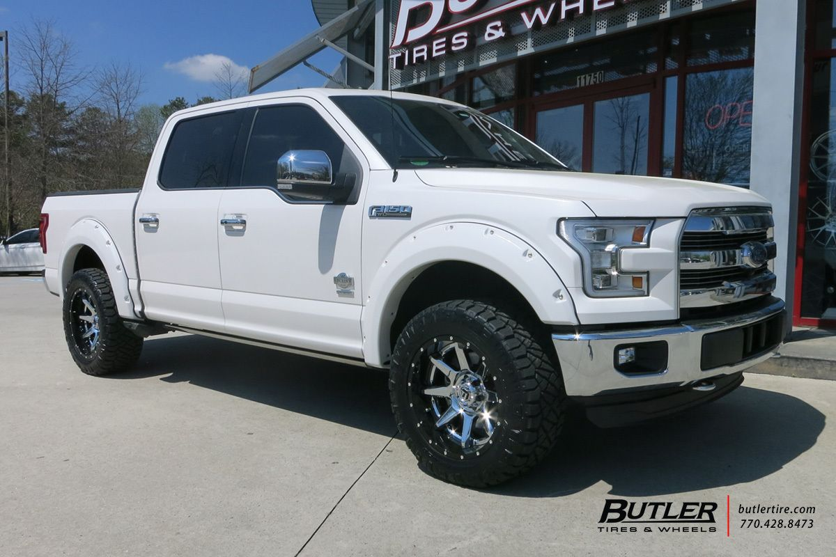 Ford F150 With 20in Fuel Rampage Wheels With Images Ford F150