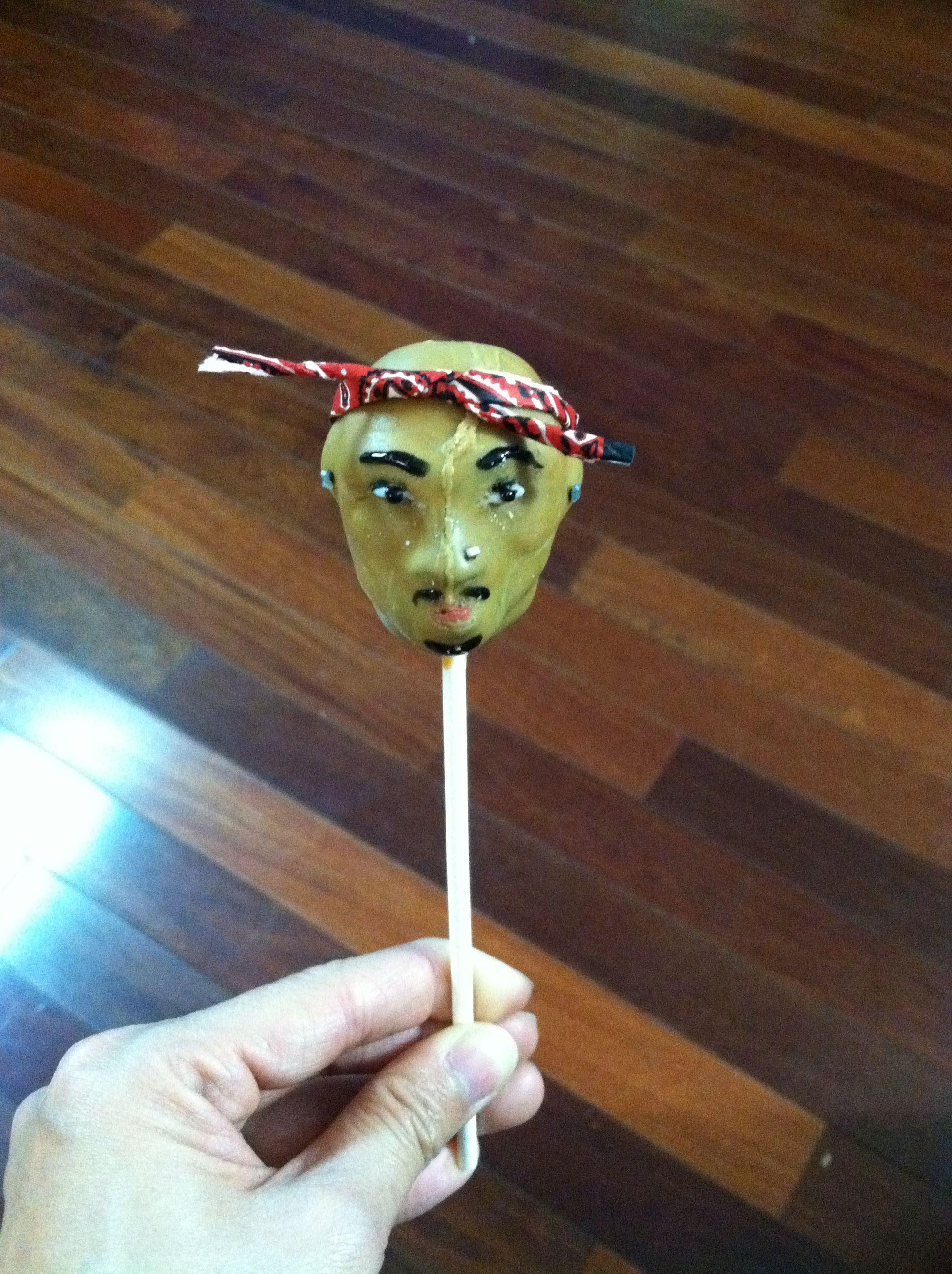 Tupac cakepop
